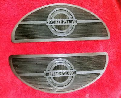 "PANHEAD KNUCKLEHEAD ""NEW OLD STOCK"" Black  FOOT BOARD RUBBERS #2940-40A"