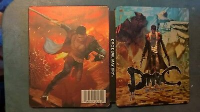 used devil may cry DMC g2 futureshop exclusive steelbook case NO GAME