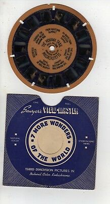Blue Ring Viewmaster #268 The Mohawk Trail Massachusetts, Hand Lettered