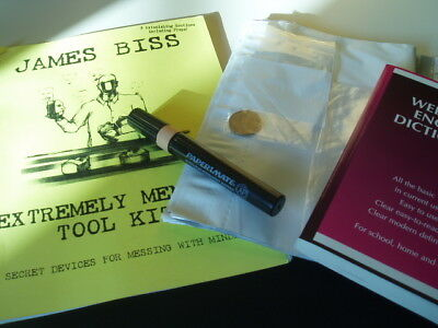 EXTREMELY MENTAL TOOL KIT by James Biss - Mentalmagie-Show