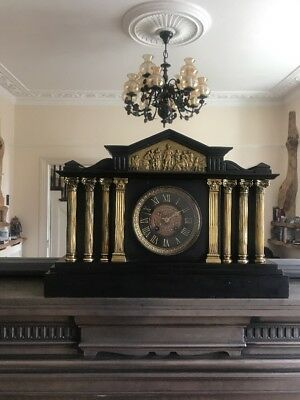 French Antique Mantelpiece Clock