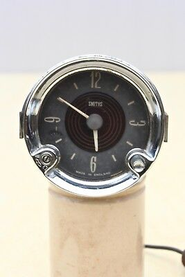 VINTAGE ORIGINAL CLASSIC CAR SMITHS CLOCK 12v NEGATIVE EARTH