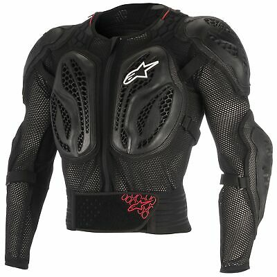 Alpinestars Bionic Action Motocross / MX CE Approved Jacket In Black / Red