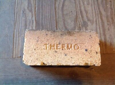 Antique Fire Brick Stamped ***** Thermo ******