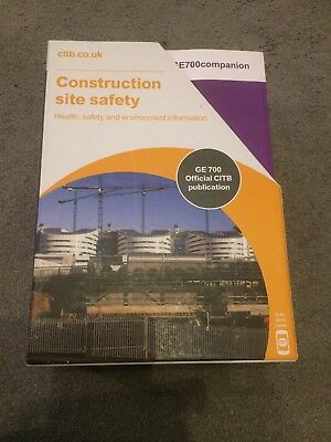 Complete Set Of CITB GE 700 Course Books - Suitable For SMSTS