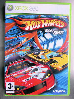 Hot Wheels: Beat That! Xbox 360 Disc , Case and Booklet in MINT Condition
