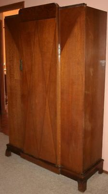 Art Deco Armoire and Dresser