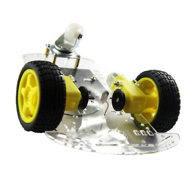 2WD DIY RC Smart Robot Car Chassis Kit Speed Encoder TT Motor For Arduino