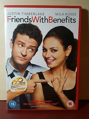 Friends With Benefits (DVD, 2012) - (J19)