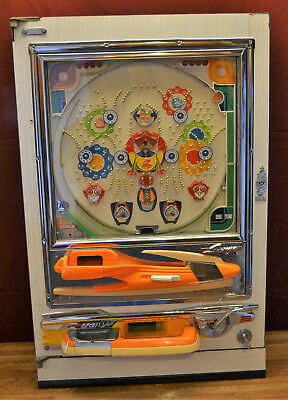 Vintage Pachinko Machine - 1977 Sanyo Comet II - Fully Restored Beauty