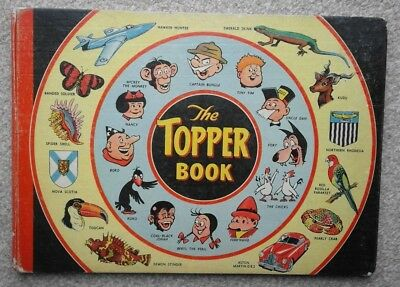 Vintage Topper Annuals 1956 1957 1959 1960 Like The Beezer Beano Dandy Annuals !