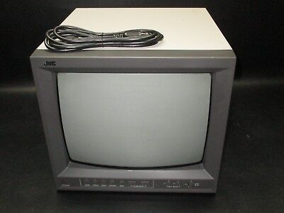 """JVC TM-A130SU 13"""" Professional SD Color Video CRT Monitor Television TV"""