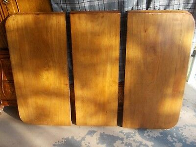 ANTIQUE victorian SPARE TOP / counter tops , table leaf leaves MAHOGANY panels