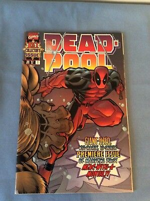 Marvel Comics Deadpool 1st Collector's Issue - Jan '97