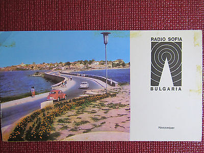 QSL RADIO SOFIA Bulgaria Pamporovo 1984 Fourth card in a