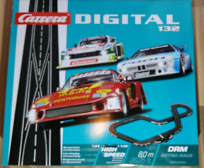 Carrera 30002 Digital 132 Grundpackung DRM Retro Race NEU/OVP