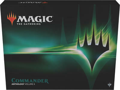 2018 Magic the Gathering MTG Commander Anthology Volumn 2 Factory Sealed Box Set