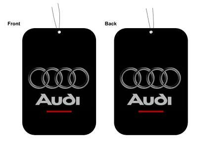 Audi S Line Car Logo Air Freshener Double Sided (BUY 3 GET 1 FREE)