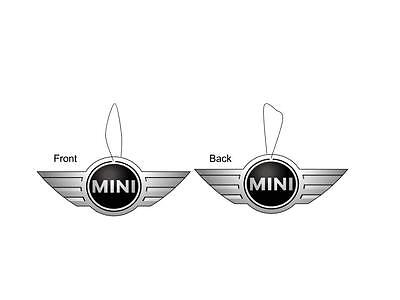 Mini Cooper Car Logo Air Freshener Double Sided (buy 3 get 1 free)