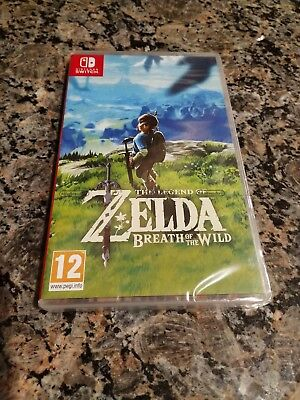 Nintendo Switch: The Legend of Zelda: Breath of the Wild Video Game Region Free
