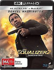 The Equalizer 2 4K UHD (Blu-ray, 2018, 2-Disc Set) Brand new & sealed