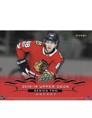 "2018-19 Upper Deck Series 2 Complete Base Card set (251-450) ""LIVE"" FREE SHIPPIN"