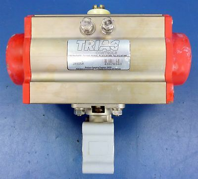 Triac Controls 150PSI Pneumatic Rotary Valve Actuator 2R80SR