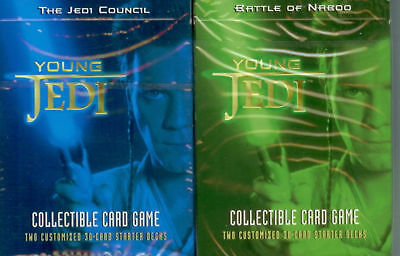 2 Young Jedi Starters - Jedi Council & Battle of Naboo