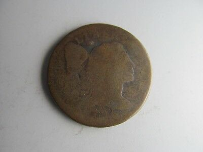 1795 Flowing Hair Large Cent -- 224 YEAR OLD U.S. COIN!