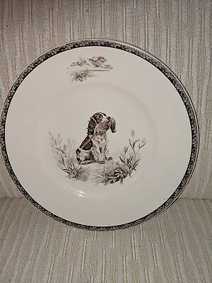WEDGWOOD English Springer Spaniel The American Sporting Dog Plate By Kirmse