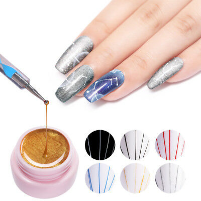 UR SUGAR 5ml Nail Spider UV Gel Polish Soak Off Gel Elastic Drawing Manicure Gel