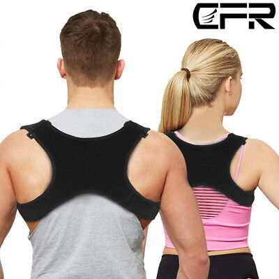 Posture Corrector Shoulder Brace Back Support Strap Belt Adjustable To Women Men