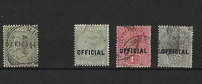 Jamaica, 1890 Officials,used,