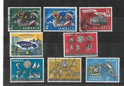 Jamaica, 1962  9th games, & Indep sets, M & used