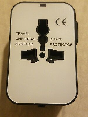 Universal All In One Power Adapter Wall Charger Socket Travel Plug Converter