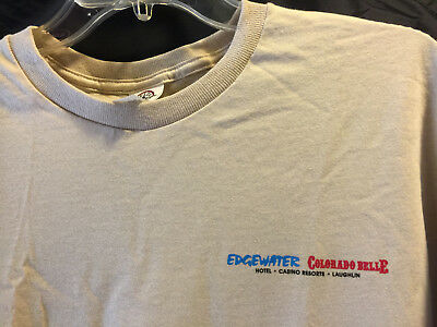 Edgewater Colorado Belle casino Boots Beer & BBQ Country Festival Tee T-Shirt Lg