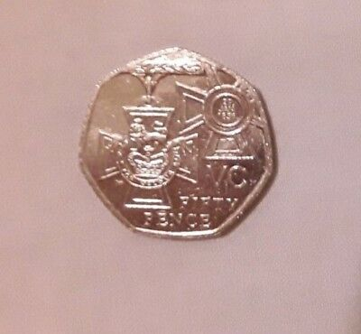 VERY RARE 2006 Victoria Cross 50p Coin VC Fifty Pence