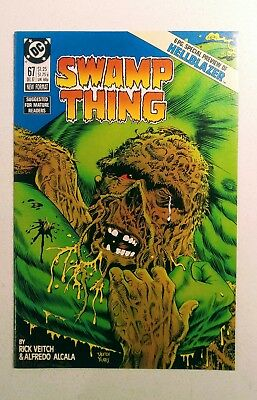 Swamp Thing #67 1987 DC Comics NM John Constantine Hellblazer Preview NM