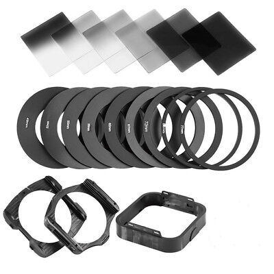 For Cokin P Camera Lens Square Filters ND With Filter Holder Adapter Ring