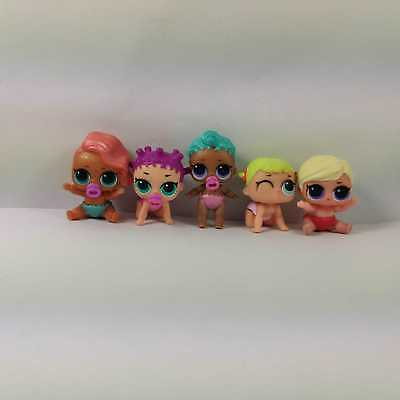 Lot of 5pcs Different Lol Surprise Doll Lil Sisters LIL Baby Girl - Color Change