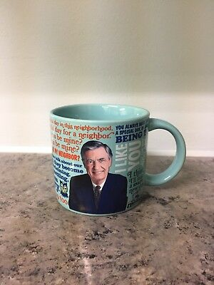 2015 Mr. Mister Rogers Sweater Changing Mug Coffee Cup Heat Activated Fred