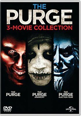 The Purge - 3-Movie Collection (DVD + Digital Download) - DVD  W6LN The Cheap