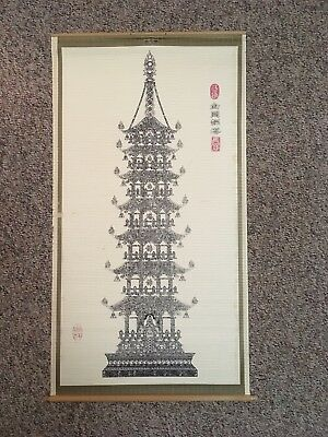 Asian (Japanese) Wall Hanging Scroll
