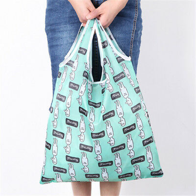 db5052f1f7fb RETRACTABLE REUSABLE GROCERY Shopping Bag Organizer with Carabiner ...
