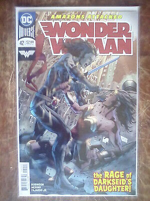 Wonder Woman 42 VF/NM to NM- Rebirth
