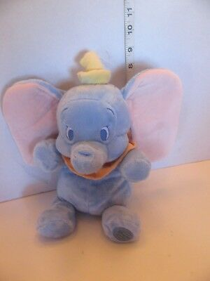 "Disney Store Exclusive 12"" Dumbo Stuffed Plush Baby Elephant Very Soft TAG Mint"