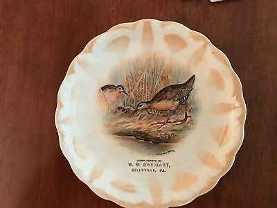 Belleville, Pa., old store adv. plate for W.M. Sweigart, early 1900's