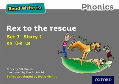 Read Write Inc. Phonics: Grey Set 7 Storybook 1 Rex to the Rescue by Gill...
