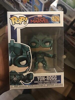 Funko POP! Marvel Captain Marvel Movie Yon-Rogg #429