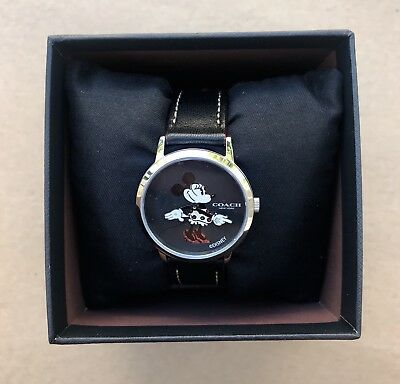 COACH X DISNEY Minnie Mouse Watch CHELSEa Collectible WATCH New